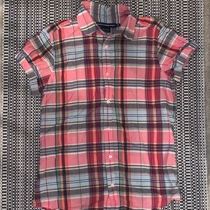Ralph Lauren Plaid Button Up Shirt